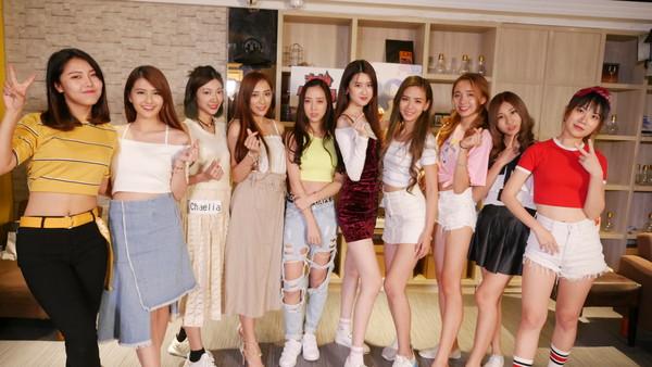▲Uplive Girls選拔。(圖/UP直播提供)