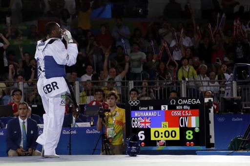 ▲世大運英國隊跆拳道選手Lutalo Muhammad。(圖/達志影像/美聯社)