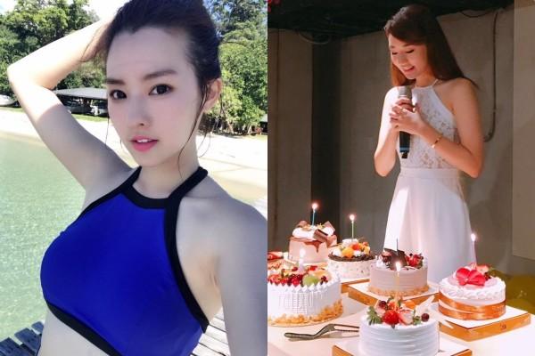 ▲陳語安25歲生日 。(圖/翻攝陳語安臉書)