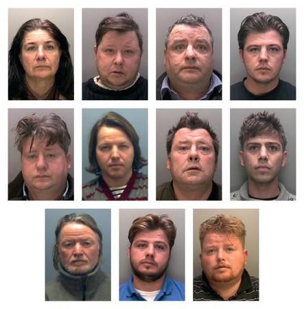 ▲▼朗尼一家與受害人居住環境。(圖/翻攝自Lincolnshire Police官網)