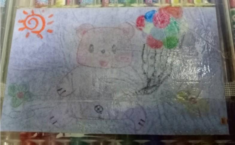 ▲▼「希望妳想起我」3歲女娃腫瘤擴散全身 在夢裡與醫護員告別(圖/小檸檬供稿專用)