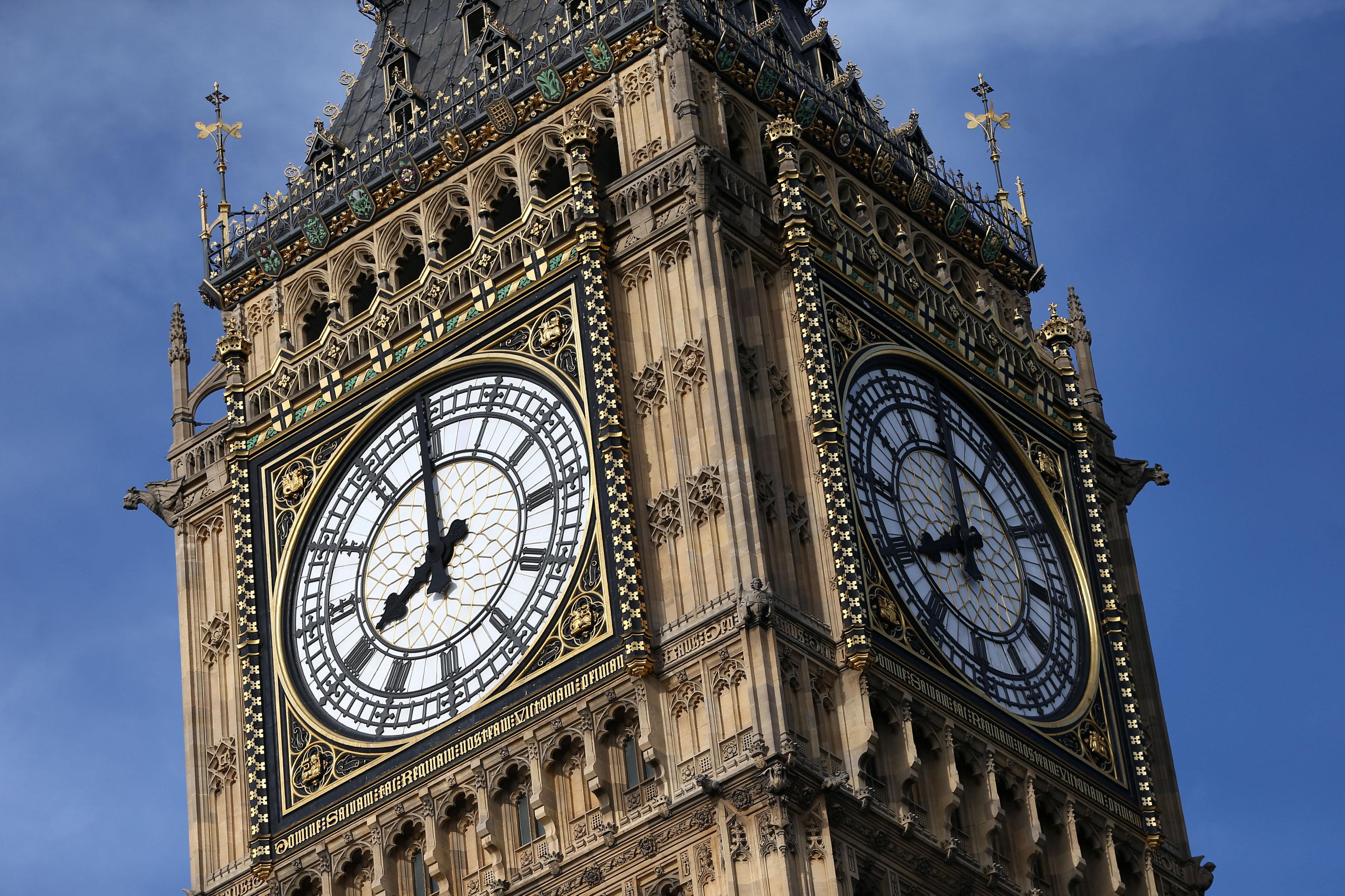 ▲▼英國著名地標大笨鐘即將「沉默」4年。(圖/路透社)