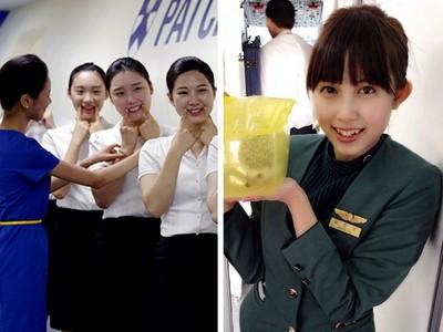 萬呎高空病倒仍微笑 空姐憶起出勤使命:旅客的命是責任