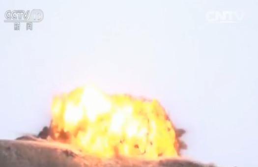 ▲▼解放軍第76集團軍某旅日前在祁連山腹地的「山地戰演習」。(圖/翻攝自《央視》)