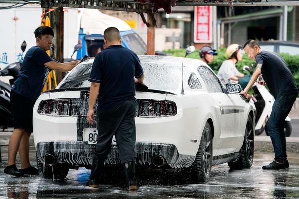 ▲▼洗車,洗車店,限水,省水,服務業。(圖/記者季相儒攝)