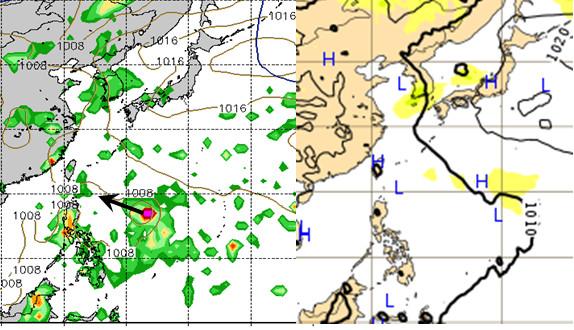 吳德榮表示,下周只要有颱風形成,很容易被導引到台灣附近。(圖/翻攝「三立準氣象•老大洩天機」氣象專欄)