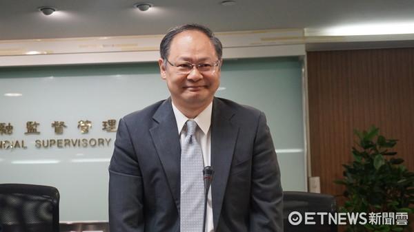 ▲▼新任保險局局長吳桂茂。(圖/記者戴瑞瑤攝)