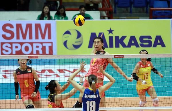 ▲亞錦賽中國女排。(取自AVC官網)