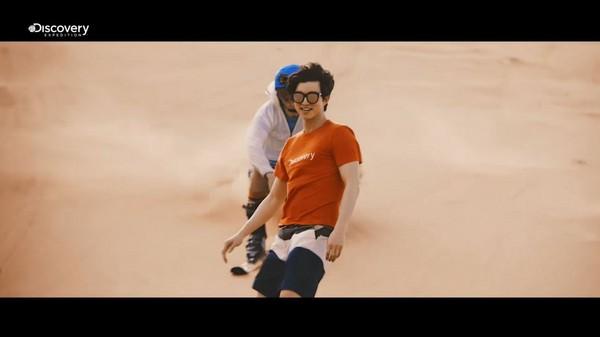 ▲孔劉代言運動服飾品牌。(圖/翻攝自服飾品牌YouTube與臉書)