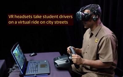 UPS 開始投入用 VR 進行快遞運送車駕駛訓練