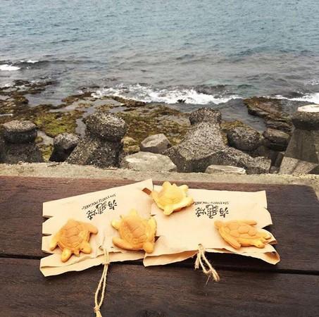▲小琉球 海龜燒 Sea turtle pancake。(圖/IG@wujanejane提供,請勿任意翻攝以免侵權)