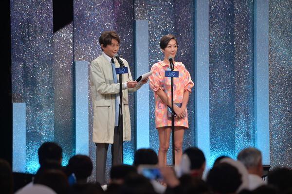 ▲吳建恆、Gigi出席廣播金鐘入圍記者會。(圖/三立提供)
