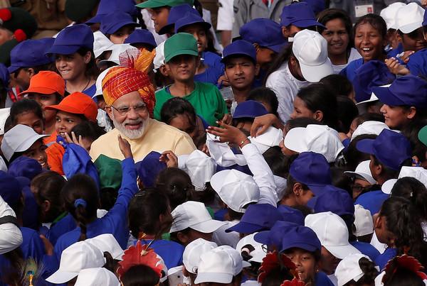 印度總理莫迪(Narendra Modi)。(圖/路透)
