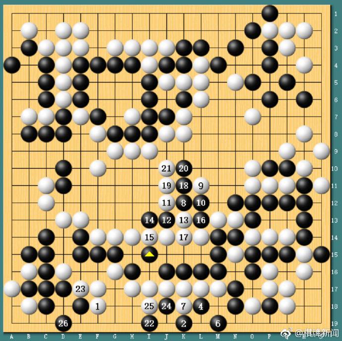 (圖/翻攝圍棋與人工智能微博)