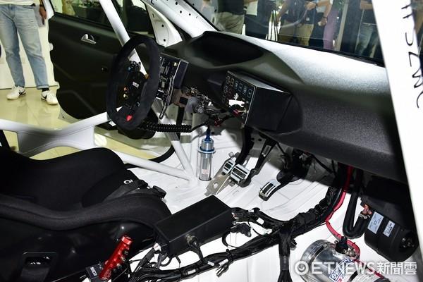 全台僅此一輛「非賣品」 寶獅308 Racing Cup TCR賽車首曝光(圖/記者游鎧丞攝)