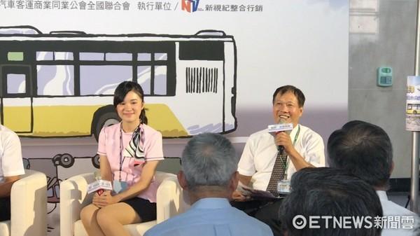▲豐原客運6506公車司機余佳德。(圖/記者賴文萱攝)