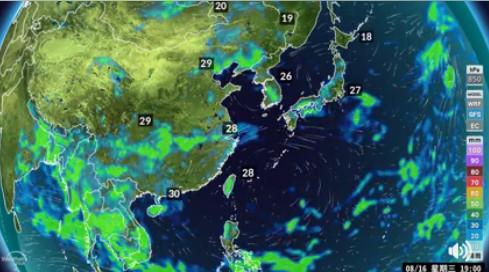 下周會有颱風生成,6到10天內會相當靠近台灣。(圖/翻攝自氣象達人彭啟明)