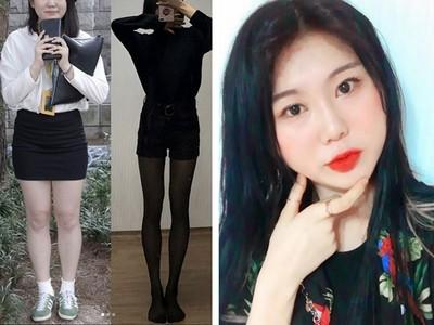 半年瘦20公斤!韓妞6招減肥法,腿縫「從一指到全開」超勵志