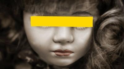 6歲女兒每晚對空氣說話 住持一看照片問:這娃娃何時買的