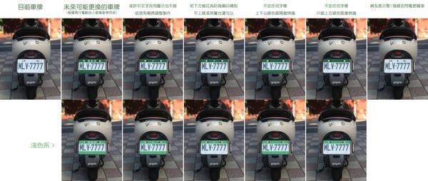 ▲電動機車換新牌遭酸醜爆 網友自製「改善版」美翻啦!(圖/「洋叔叔」授權提供,請勿隨意翻拍,以免侵權。)