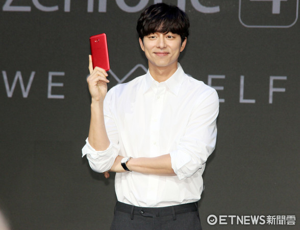 ▲直擊孔劉代言ZenFone 4。(圖/記者洪聖壹攝)