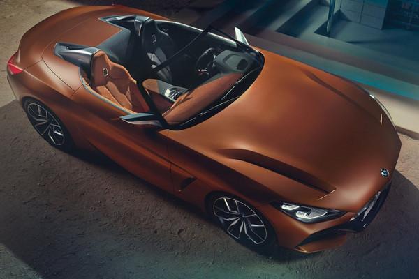 ▲BMW全新Z4跑車終於亮相!肌肉線條帥到分手。(圖/翻攝自BMW)