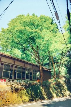 日本京都 貴船口駅。(圖/李佑群)