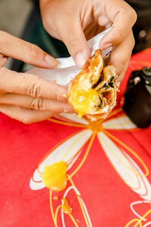 ▲明禮路林記蔥油餅。(圖/小虎食夢網提供)