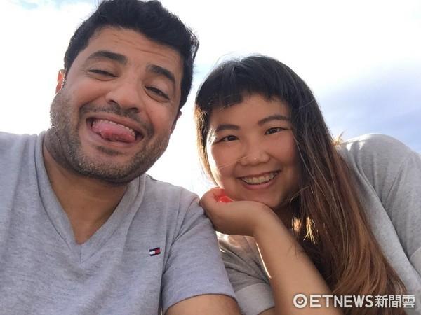 ▲▼台灣女孩Janis和沙烏地阿拉伯男友。(圖/Janis提供,請勿隨意翻攝)