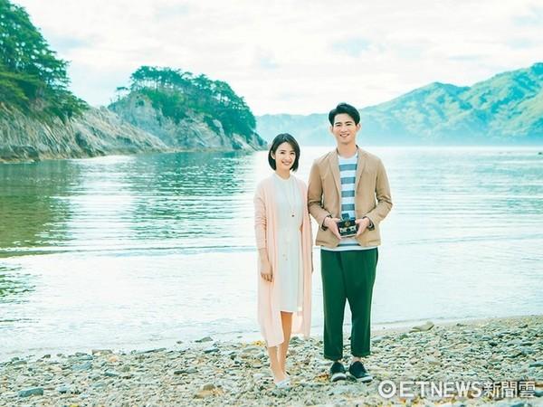 ▲簡宏霖和師姐林依晨到日本。(圖/周子娛樂提供)
