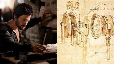 活在15世紀的「達文西是穿越者?」 隨手筆記全是未來科技
