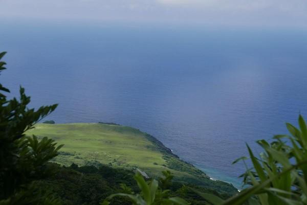 登高山後可望見青青草原。