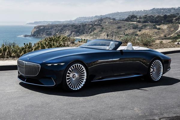 ▲超豪華「陸地遊艇」!邁巴赫概念車結合古典與未來。(圖/翻攝自Mercedes-Benz)