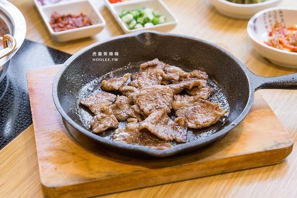 ▲槿韓食堂太極鍋。(圖/虎麗笑嗨嗨提供)