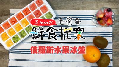 貓狗都能吃! 親手做「俄羅斯水果冰盤」...夏天超消暑