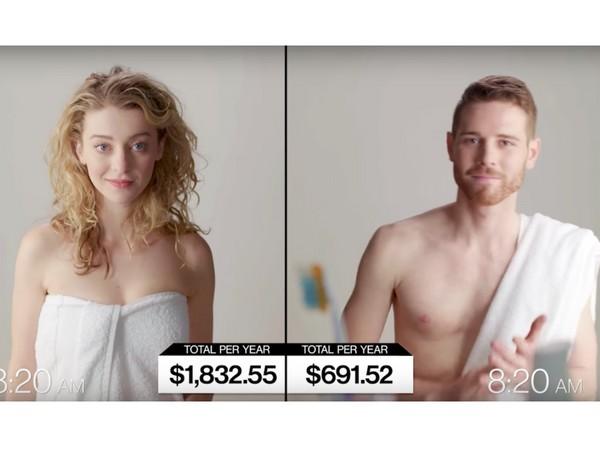 ▲男女出門前金額差很多(圖/翻攝自YouTube)