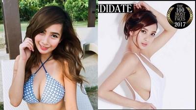 菲律賓G奶「Angela阿喜」入選《百大美女》 直播晃乳美到不科學