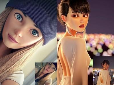 真人肖像變成動畫主角!3D藝術家實現你的「皮克斯夢」