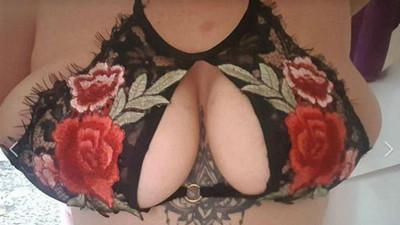 英女買中國製性感內衣,穿上後「副乳魔化」…木瓜奶要窒息