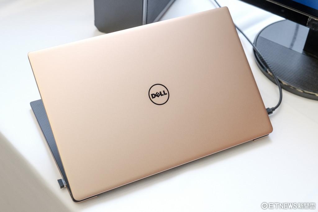 搭Intel第八代CPU、主打輕巧!Dell XPS 13筆電更新。(圖╱記者莊友直攝、翻攝自官網)