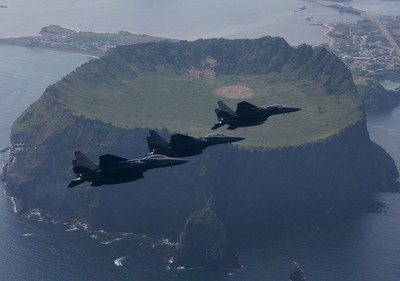 南韓在獨島演習 日要求立即停止
