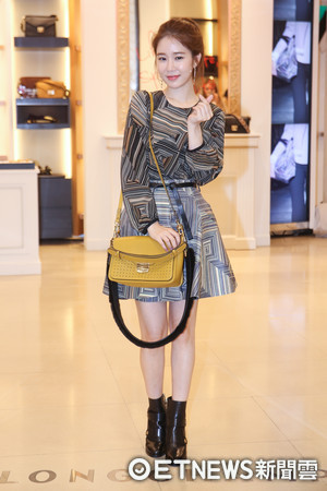 ▲▼LONGCHAMP台北101旗艦店盛大舉行「Mademoiselle Longchamp新品上市酒會」-劉仁娜。(圖/記者周宸亘攝)