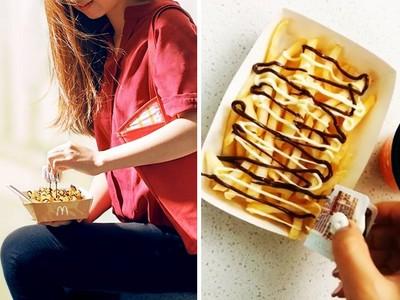 雙醬巧克力淋好淋滿!速食龍頭公布薯條新作,瀏覽數一天破萬