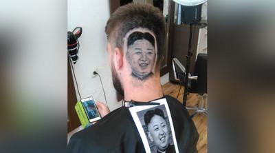 他跟設計師說想剪「金正恩髮型」…結果87%像讓人崩潰