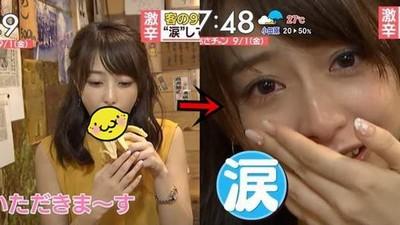 宇垣美里太色了!早晨「含淚吃香蕉」讓鄉民超興奮:硬了