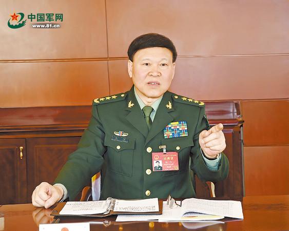 港媒傳出原中央軍委政治工作部主任張陽,因涉嫌嚴重違紀遭到調查。(圖/翻攝自中國軍網)