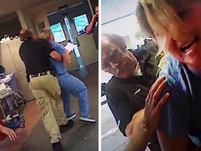抽血不成就逮捕護士!捍衛患者權利 反遭警蠻橫上銬
