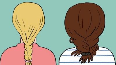 別人的辮子 VS.我的大腸頭...10個髮量多女孩才懂的煩惱!