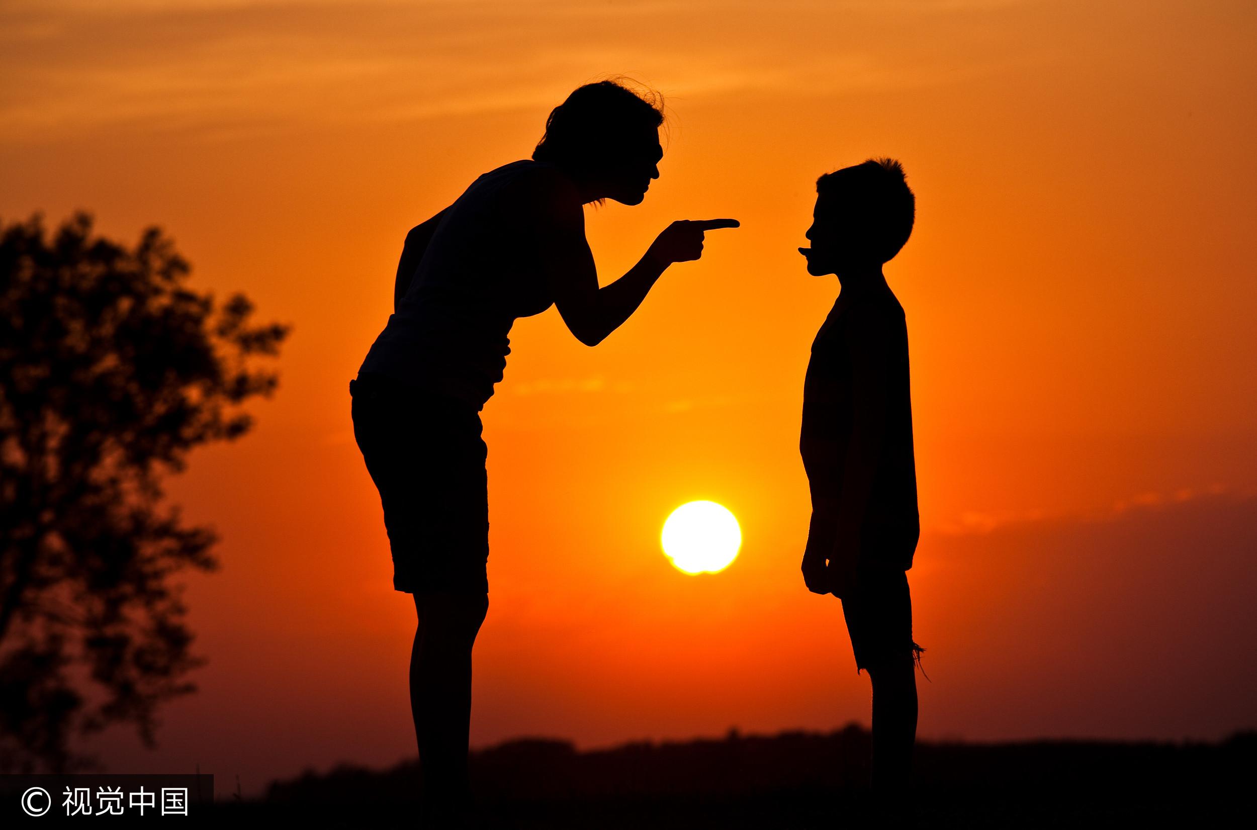 ▲親子,家庭,教育,責備,孩子,兒少,叛逆,逼迫。(圖/視覺中國)
