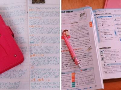 「抄寫」化學式被笑沒用!國中女生讀書方法掀論戰